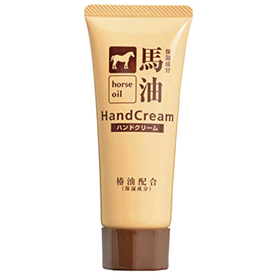 ブリリアントデコレーションスローガン熊野油脂 椿油配合馬油ハンドクリーム 60g