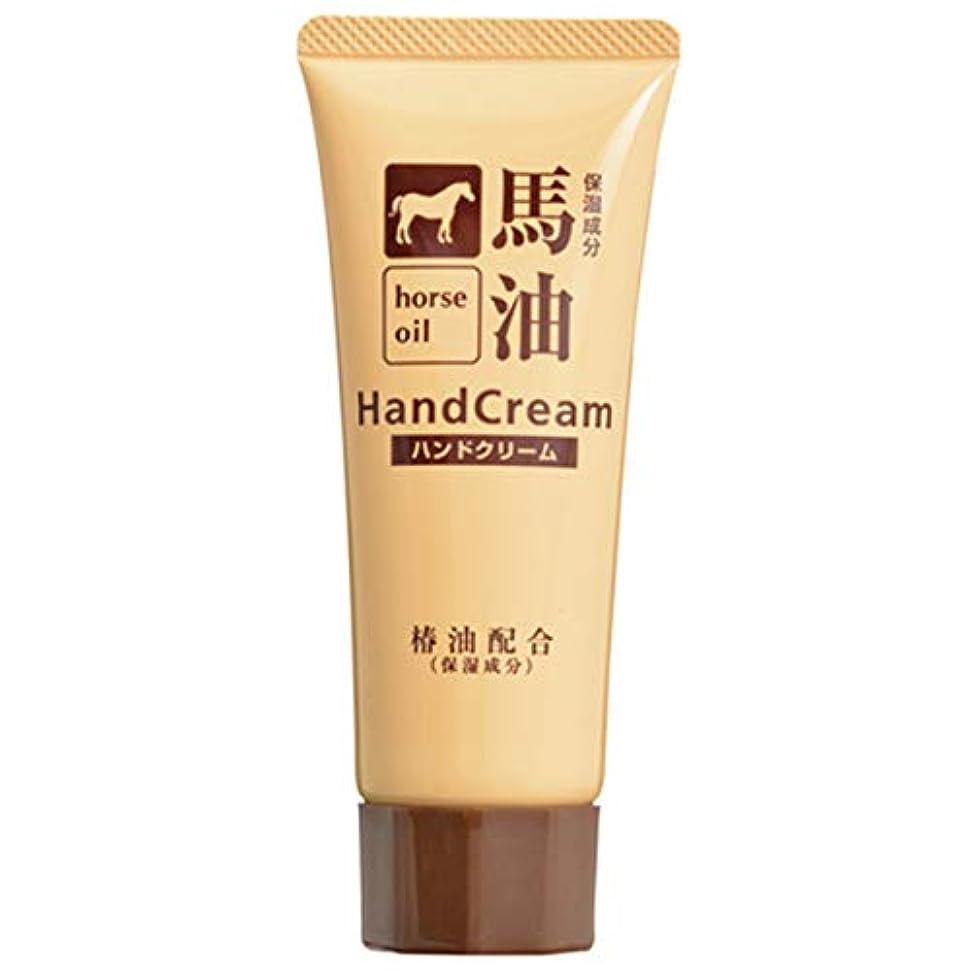 クリップ蝶暴動認める熊野油脂 椿油配合馬油ハンドクリーム 60g