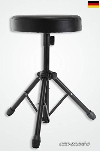 Schlagzeugsitz basic Drumsitz Drumhocker Schlagzeughocker Throne