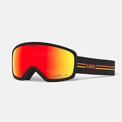 Giro Ringo Masque de Ski Unisexe pour Adulte - Noir GP/Orange Vivid décembre