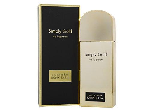 simplement Doré Eau de parfum en flacon vaporisateur pour femme, 100 ml