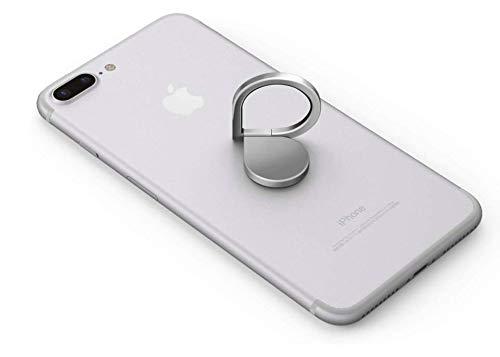 LU Ring, Handyhalterung, 360 °, selbstklebend, 3M-Klebeschutz, magnetisch, für Armaturenbrett (Schwarz, Silber, Roségold)