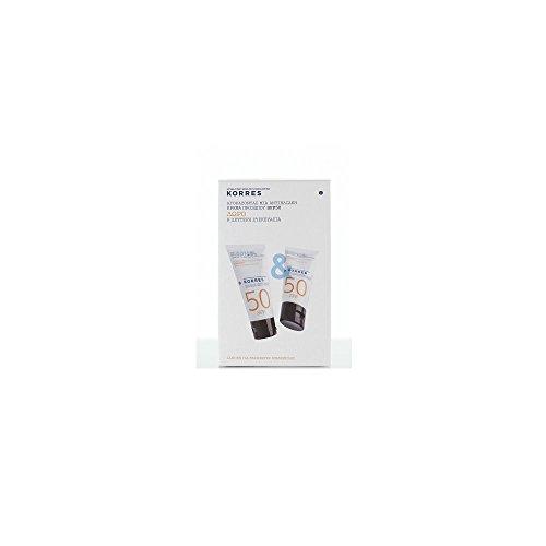 Korres Yoghurt Sunscreen Face Cream SPF50 For Sensitive Skin 50ml +1 FREE