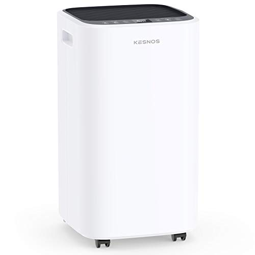 Kesnos 2000 Sq. Ft Dehumidifiers for Large Home and Basements, with Continuous Drain Hose, 24Hr Timer, Child Lock, Auto Defrost