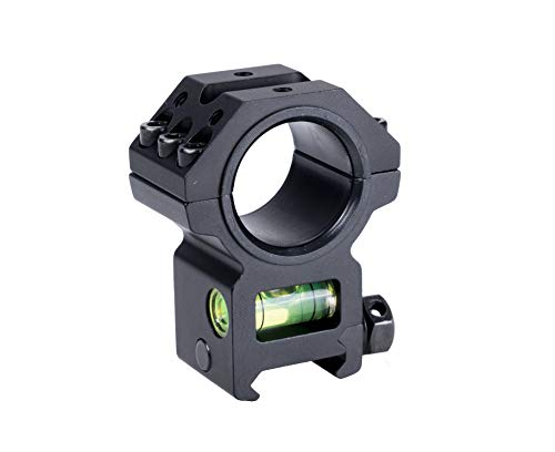 Viiko 30mm Scope Ring Mount 1.4' inch Center Height High Profile Ring Mounts Bubble Level Offset 45 Degree Rail Mount 7075 High Strength Aluminum