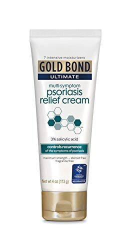 Gold Bond Ultimate Psoriasis Relief Cream, 4 Ounce (Pack of 1)