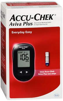 Accu-Chek Aviva Plus Blood Glucose Monitoring System - EA