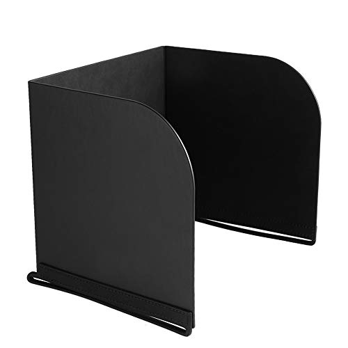Hooshion Remote Controller Phone Monitor Sun Hood Sunshade Cover Hood Smartphone Tablet iPad Sun Shade for DJI Mavic Air 2 Pro Inspire/Phantom 3 4 M600 OSMO Accessories (9.7 inch, Black)