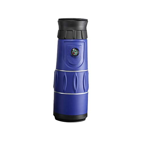 Faplu Telescope, Ultra High Power 26X52 Portable HD Night Vision Monocular For リモート待って見て (Blue)