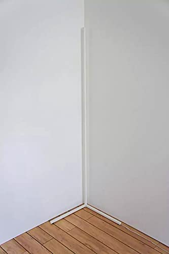 L-WSWS Lámpara de pie Esquina moderna Lámpara de pie Lámpara de pie brillante Decoración para el hogar Luz de luminaria Sala de estar de la cama Lámparas de la noche Lámparas de pie interior de la ilu