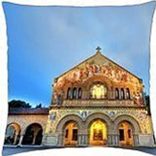 stanford memorial church - Throw Pillow Cover Case (18