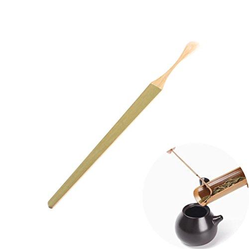 Milopon té matcha Cuchara bambú polvo Scoop Teaware Ceremonia del Té accesorios 18* 1