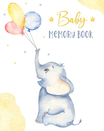 Baby Book Memory: Baby Stuff for Newborn - Gifts for Babyshow