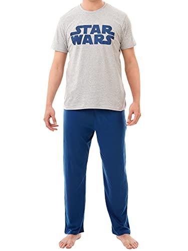 Star Wars Pijamas para Hombre Azul Large