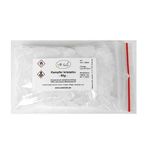 Sala Kampfer Crystallin - Cristales de alcanfor (50 g)
