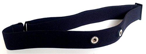 SOFT STRAP - Cinturón de recambio para transmisor de frecuencia cardiaca Polar Wearlink, tallas M - XXL
