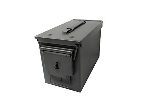 Modern Warrior 11.8' All Metal 50 Caliber Ammo Can with...