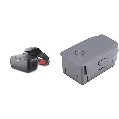 DJI Goggles Racing Edition VR Brille Racing inkl. 2 Bildschrime, schwarz & Smart Battery für Mavic 2 Pro und Mavic 2 Zoom | Flugzeiten Ihrer Drohne verlängern | Schützt vor Überlastung