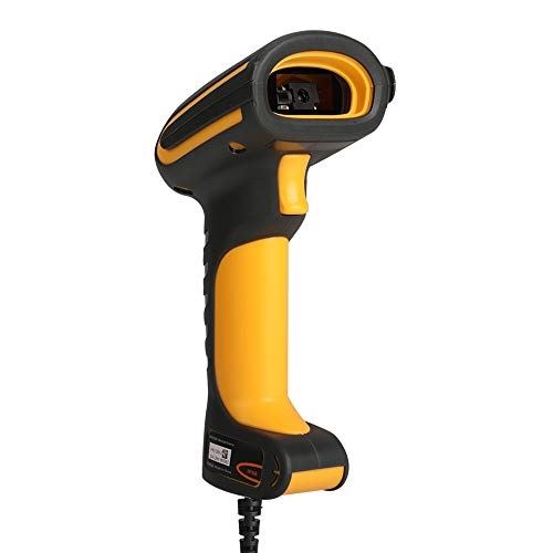 LENVII 2D Barcode Scanner HD Industrial I200 QR-Code High Density,Waterproof Anti-Shock Construct Bar Code Reader, Industry 4.0 Barcode Scanner 3d barcode scanner