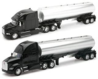 New-Ray Toys AS12820NR 132 Scale Die-Cast Kenworth Mack Longhaulers Tanker Trucks Assortment