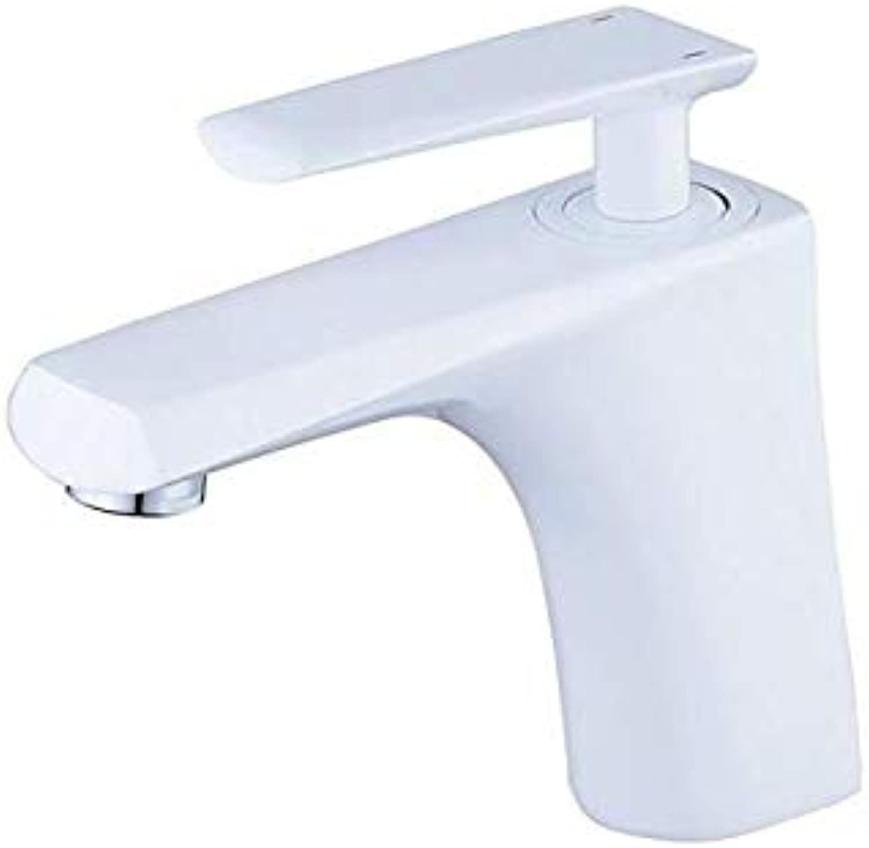 Basin Faucet Sink Faucet Retrosingle Hole Bathroom Faucet Solid Brass Single Handle