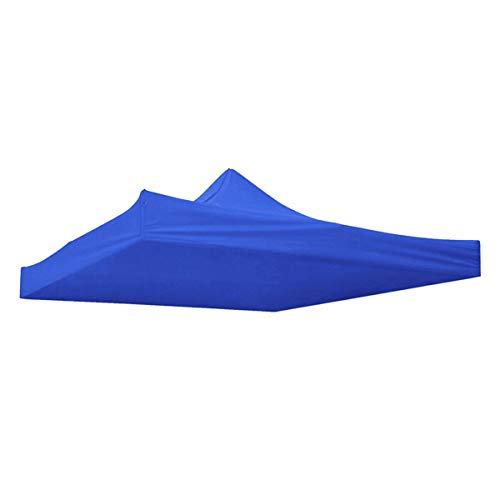 Kirmax 10X10Ft Canopy Top Replacement Patio Outdoor Sunshade Tent Cover Blue