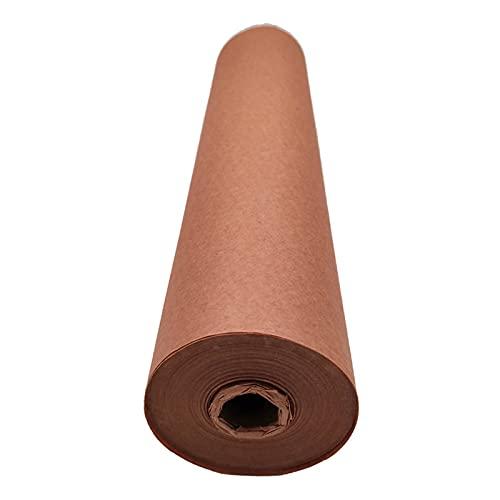 BestSiller Rollos de papel Kraft de carnicero, papel de barbacoa multifuncional, papel de regalo de melocotón de grado alimenticio para asar la carne de ahumar