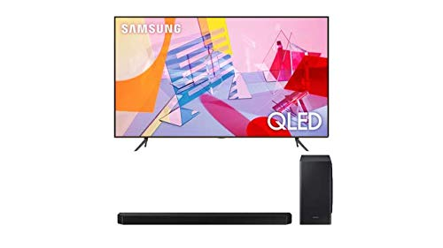 Samsung QN43Q60TA Ultra High Definition Smart 4K Quantum HDR QLED TV (2020) with a Samsung HW-Q900T 7.1.2 Channel Soundbar with Dolby Atmos and DTS:X (2020)