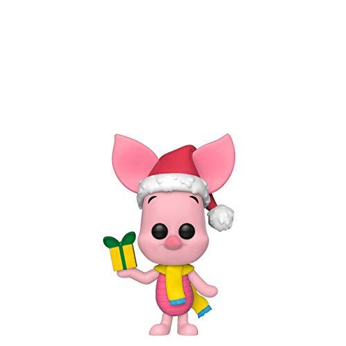 Funko - Pop! Disney Holiday - Piglet Figura De Vinil, Multicolor (43330)