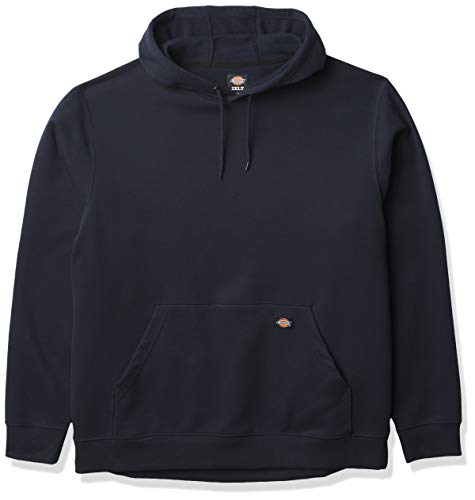 Dickies Herren Big Tall Pullover Hoodie Fleece-Jacke, Dunkles Marineblau, 4X-Large
