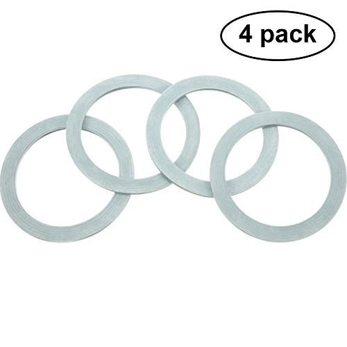 4 Packungen Mixer Dichtung Ring Dichtungen O-Ring Dichtung O-Dichtung Gummi für Oster und Osterizer Mixer
