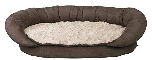 Trixie 37242 Vital Bett Fabiano, 95 × 67 cm, braun/beige