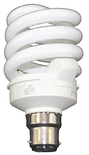 Seasonal Affected Disorder Bright Full Spectrum Natural Cool Daylight Bulb 6500/K 11/Watt Low Energy Bulb 60/W Socket ba/î /¯ onnette Its A = 55/Watt B22/Good for SAD