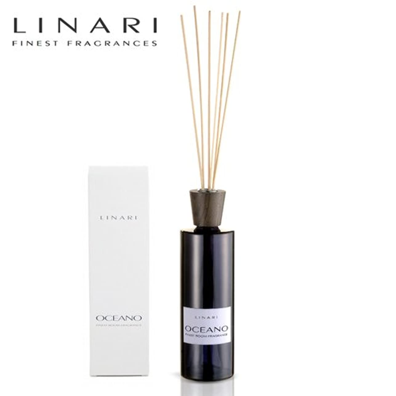 さわやか最初に歩き回るLINARI リナーリ ルームディフューザー 500ml OCEANO オセアノ ナチュラルスティック natural stick room diffuser