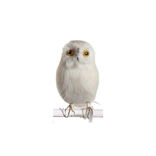 バード 白フクロウ B プエブコ PUEBCO BIRDS white owl B