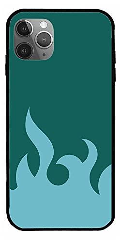 Lover Art Blue Fire Flame High Fashion Background Cajas del Teléfono iPhone Samsung Xiaomi Redmi Note 10 Pro/Note 9/Poco M3 Pro/Note 8/Poco X3 Pro Funda