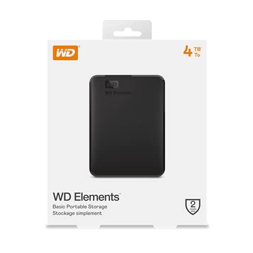WD Elements Portable , externe Festplatte – 4 TB – USB 3.0 – WDBU6Y0040BBK-WESN - 10