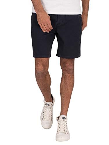 Superdry Herren Sunscorched Chino Shorts, Blau (Midnight Navy 56T), 50 (Herstellergröße:L)