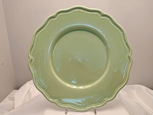 Provence Bitossi Untersetzer, Keramik, 33 cm, hellgrün