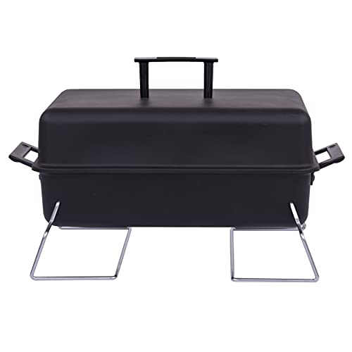 Char-Broil Portable Tabletop Charcoal Grill Black - Barbacoa (Grill, Charcoal, Tabletop, Grate,...