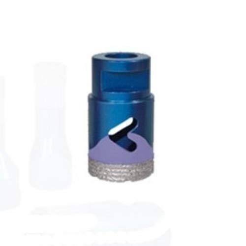 Diamantboorkroon A droog te gebruiken op haakse slijper/Flex. Geschikt voor het boren van fijnsteengoed, keramiek, monocottura, graniet, marmer, natuursteen, tegels van bicottura en vetrose.