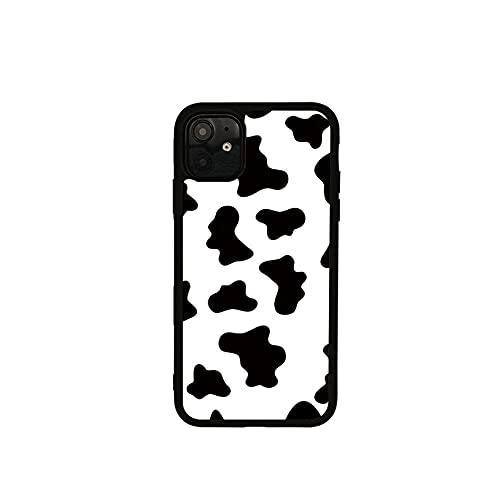 Funda Blanda para teléfono móvil con patrón de Vaca en Blanco y Negro para iPhone 11 12 Pro 6s 7 8 Plus X XS 11 Pro MAX XR Funda Protectora, para iPhone 11 Pro MAX