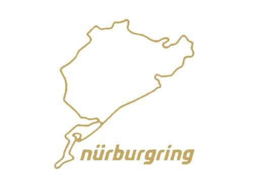 Nürburgring sticker 8 cm