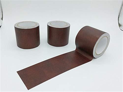 NO LOGO 1pc Bois Cuir synthétique adhésif Ruban réparation étanche Seal Tape Fuites Lacunes Masking décoratif Ruban 57mmx4.6m (Couleur : Blue)