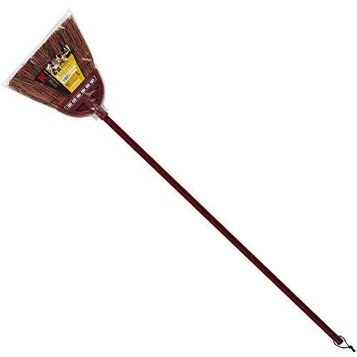 アズマ 外ほうき 赤シダほうき長柄 穂幅26cm 全長127cm 玄関・お庭の掃き掃除に最適 名匠152