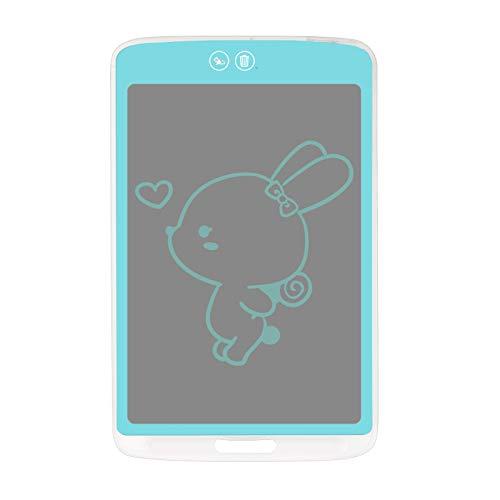Tanice 10' Tableta de Escritura LCD Digital Pizarra Digital Admite Borrado Parcial Pizarra Gráfica Bloque de Funciones con Bolígrafo Tablero de Dibujo Doodle Pad Regalo para Niños Oficina de Enseñanza