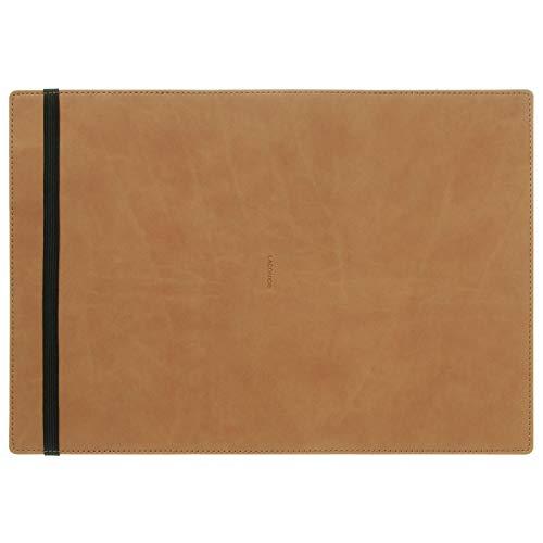 ラコニック 手帳カバー A5 差込み式 ブラウン LDC12-160BR