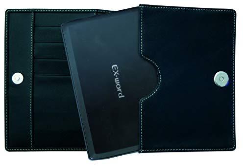 Casio Ex-Word große Kunstledertasche für EW-G6600C (sowie für Casio EX-word Serie 7000er / 5000er / 3000er)