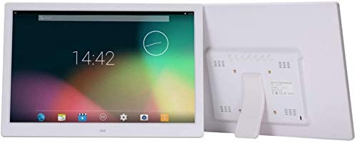 Marco fotos digital, marco fotos digital 15 pulgadas Wifi IPS Pantalla táctil Pantalla HD: rotación automática, compartir fotos a través la aplicación, correo electrónico, nube: operación la pantall