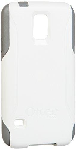 Otterbox Commuter Series Samsung Galaxy S5 Case - Retail Packaging - Glacier (White/Gunmetal Grey)